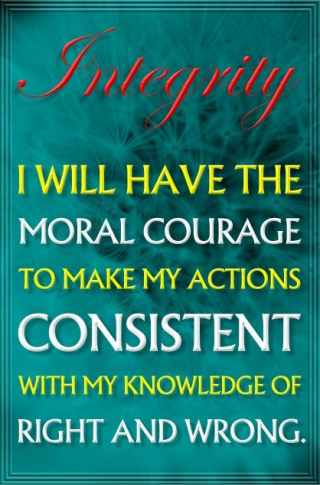 Moral courage to use