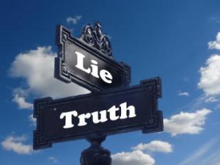 Lie truth