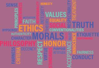 Ethics collage