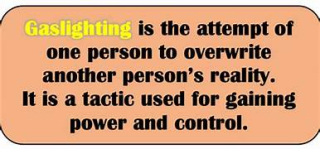 Gaslighting defined